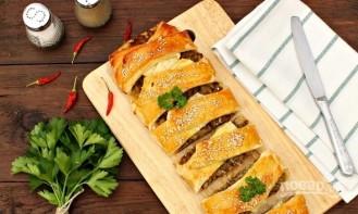 Пирог из капусты (с фаршем) - фото шаг 6