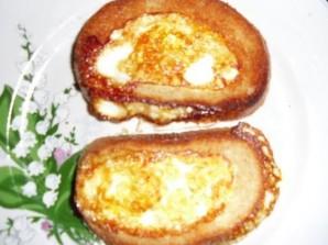 Бутерброды с яйцом на сковороде - фото шаг 3