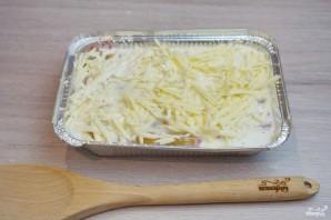Макароны, фаршированные фаршем и сыром, в духовке - фото шаг 5