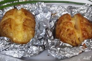Печеная картошка в духовке - фото шаг 5