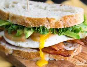 Бутерброды на завтрак - фото шаг 7