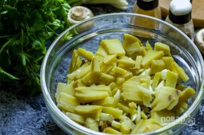 Салат из языка свиного - фото шаг 4
