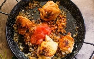 Курица с креветками - фото шаг 4