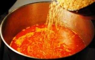 Суп из баранины с булгуром - фото шаг 5