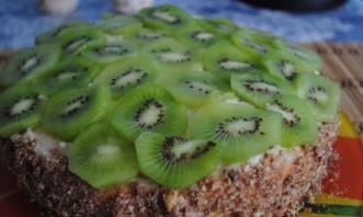 Бисквитный торт в мультиварке - фото шаг 11