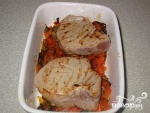 Тунец в томатном соусе - фото шаг 6