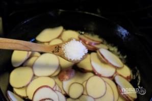 Жареная картошечка с луком - фото шаг 4