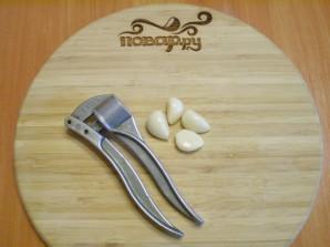 Баклажаны жареные с чесноком и сметаной - фото шаг 5