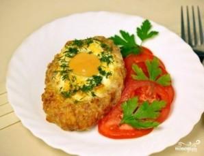 Шницель с яйцом - фото шаг 5