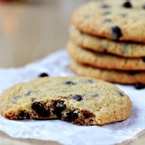 Печенье с шоколадной крошкой - фото шаг 9