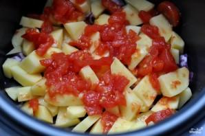 Грибы тушеные с овощами - фото шаг 2