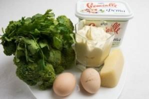 Запеканка с брокколи и сыром - фото шаг 1