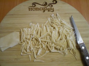 Суп из домашней лапши - фото шаг 8