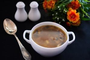 Суп с гречкой без мяса - фото шаг 6