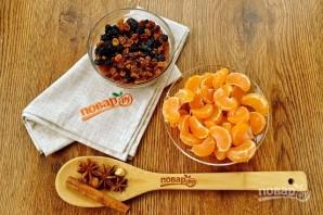 Рождественский кекс с мандаринами - фото шаг 2