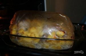 Картошка с курицей в рукаве - фото шаг 4