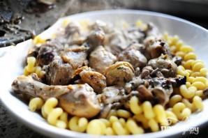 Курица с грибами и артишоками - фото шаг 14