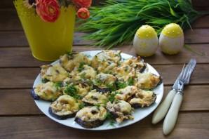Баклажаны, фаршированные курицей и грибами - фото шаг 6
