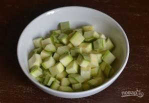 Овощное рагу с курицей и кабачками - фото шаг 4