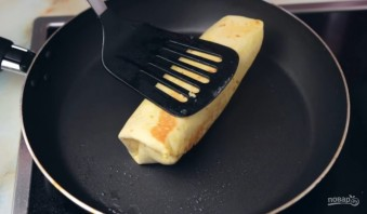 Буррито с грибами на завтрак - фото шаг 4