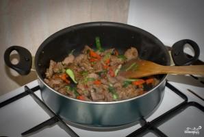 Мясо по-монгольски - фото шаг 6