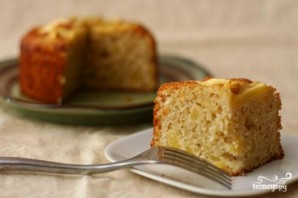 Яблочно-кокосовый пирог - фото шаг 3