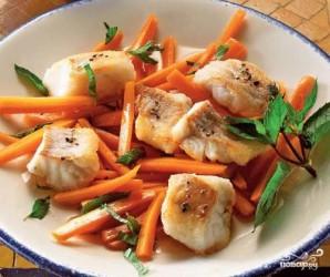 Треска с морковью - фото шаг 5