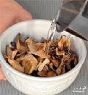 Куриные грудки с грибами в меду - фото шаг 1