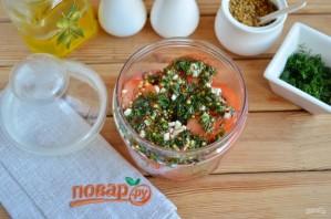 Острая закуска из помидоров - фото шаг 5