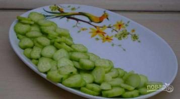 Овощной салат по-грузински с орехами - фото шаг 1