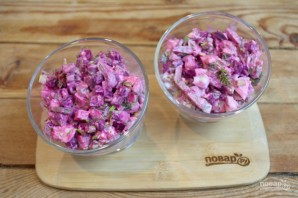 Нарын (салат) - фото шаг 6