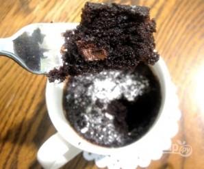 Кекс за 3 минуты - фото шаг 6