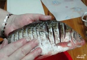 Рыба по-царски с грибами - фото шаг 1