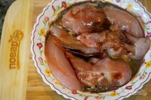 Куриные грудки терияки с ореховым соусом - фото шаг 1