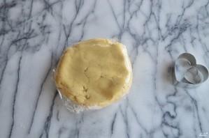 Печенье в виде сердечек - фото шаг 3