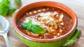 Суп-лазанья - фото шаг 7
