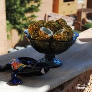 Сырные шарики с фисташками и виноградом - фото шаг 8