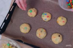 Печенье с M&M's - фото шаг 3
