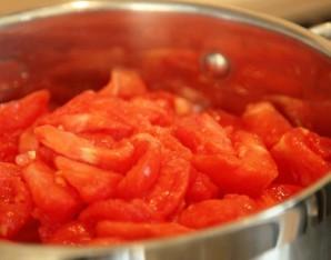 Лук в томатном соусе на зиму - фото шаг 1