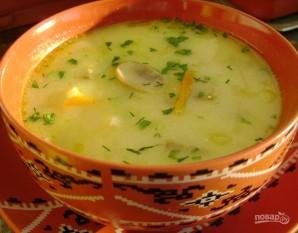 Грибной суп с цветной капустой - фото шаг 9