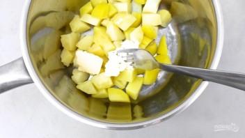 Картофельное пюре с креветками - фото шаг 2