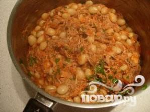 Фасоль с помидорами - фото шаг 6