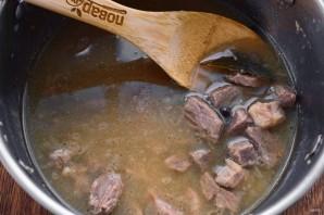 Мясной соус из детства - фото шаг 5
