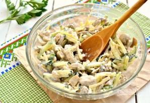 Салат с печенью свиной - фото шаг 8