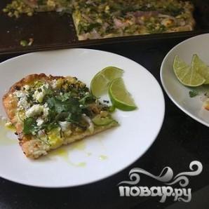 Пицца с цуккини и кукурузой - фото шаг 5
