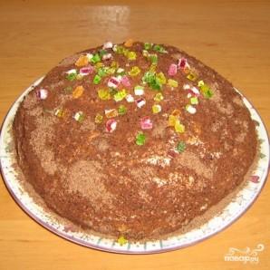 """Торт из печенья """"Рыбки"""" - фото шаг 5"""