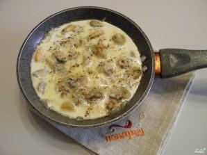 Паста с мидиями в сливочном соусе - фото шаг 3