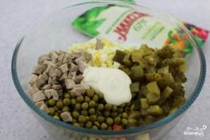 Салат оливье со свининой - фото шаг 6