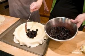 Пирог с ежевикой - фото шаг 11