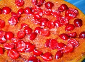 Вишневый торт со сметанным кремом - фото шаг 5